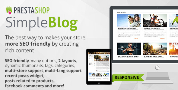 Simple Blog PrestaShop