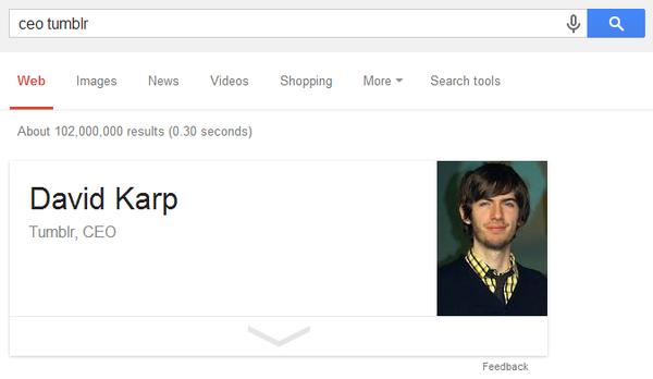 David Karp, Tumblr, CEO