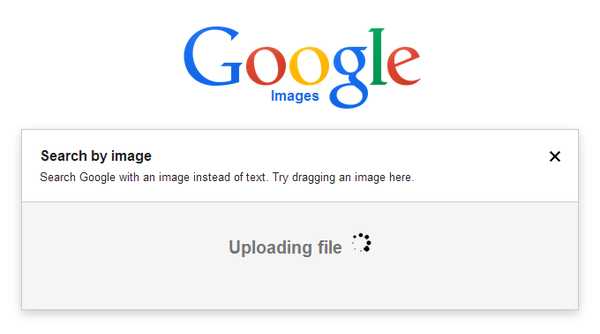 Google's search by image feature