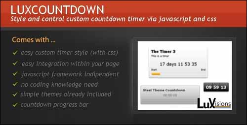 LuxCountdown Plugin