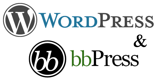 bbPress & WordPress together