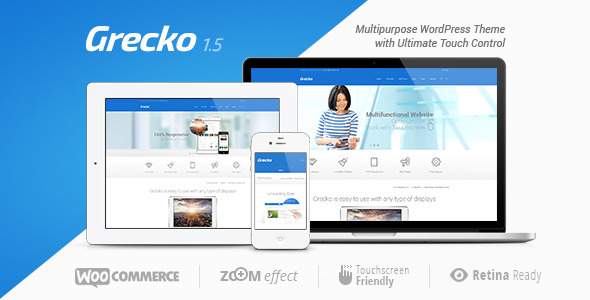 Grecko WP theme