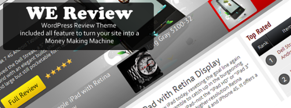WE Review theme