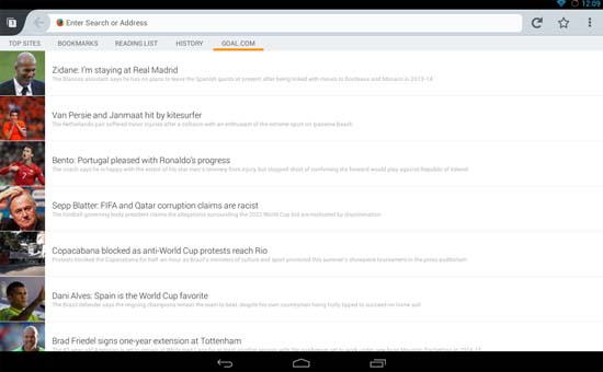 Mozilla Firefox Browser for Android