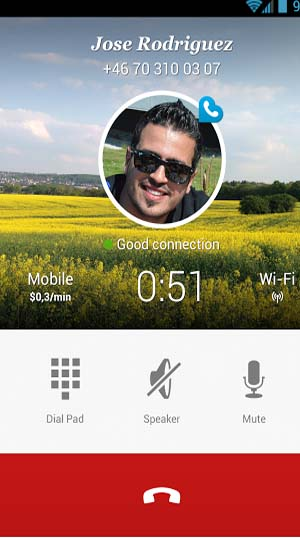 Rebtel Cheap and Free Calls for Android