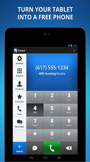Talkatone free calls + texting for Android