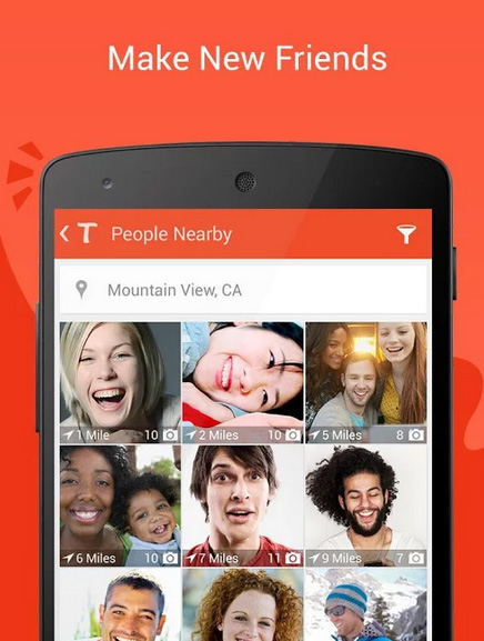 Tango Messenger, Video & Calls Android App