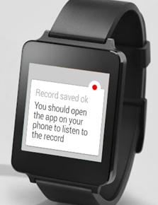 Wear Audio Recorder Screenshot 2
