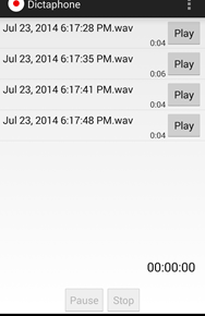 Wear Audio Recorder Screenshot 3