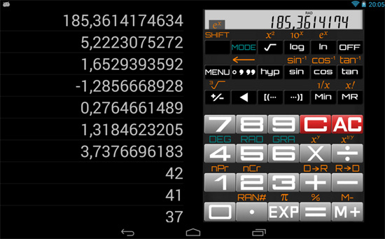 AC Scientific Calculator