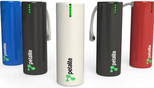 Petalite flux portable charger