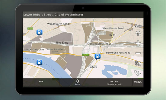 GPS Navigation BE-ON-ROAD for Android