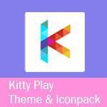 Kitty Play Theme & Iconpack Thumb