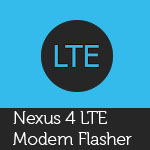 Nexus 4 LTE Modem Flasher Android Thumbnail