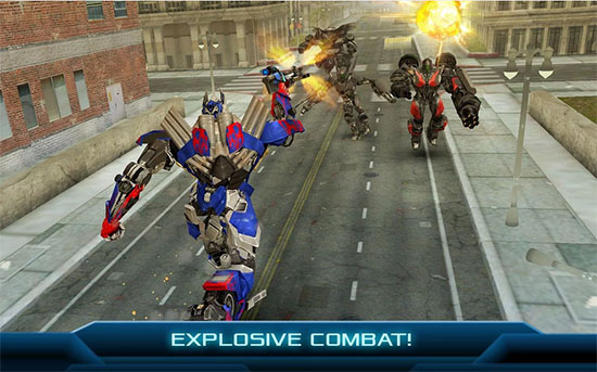 Transformers Age of Extinction Game Android
