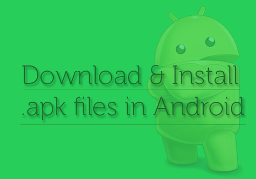 Download and I Android apk Files