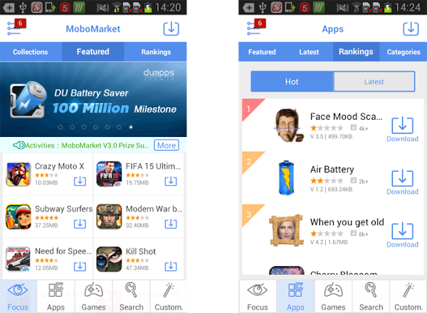MoboMarket – An Outstanding Substitute to the Google Play Store