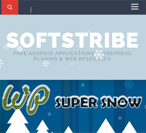How to Add Snow Falling Effect on WordPress blog