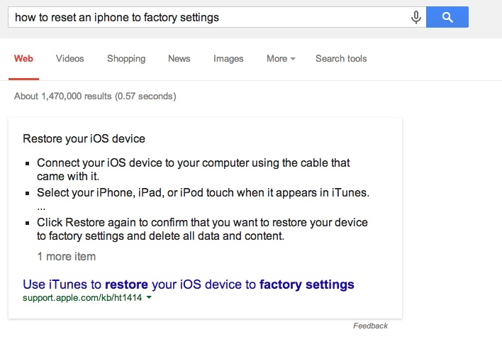 how-to-seset-an-iphone-to-factory-settings-google-answers