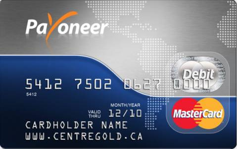 Get Your Own Payoneer Card Today! (With 25$ BONUS)