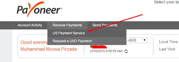 Payoneer Us Payment Service