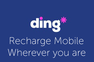 Recharge mobile with ding