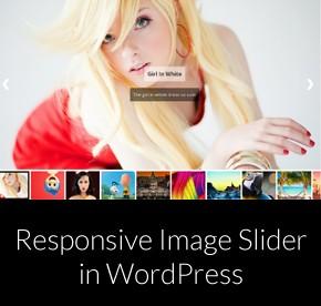 Responsive Image Slider