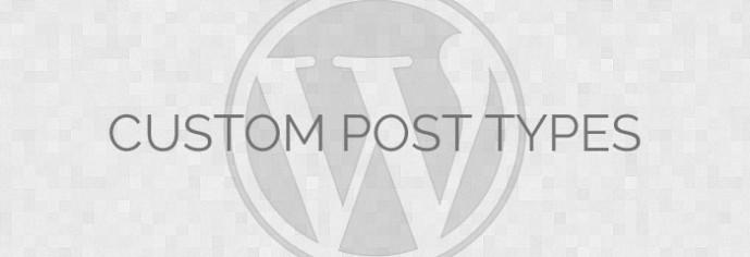 WP Custom Post Types