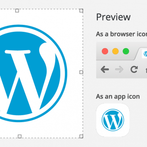 The best one: Site Icons
