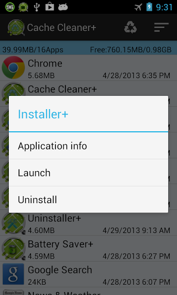 Cache Cleaner + v1.0.8 .apk File