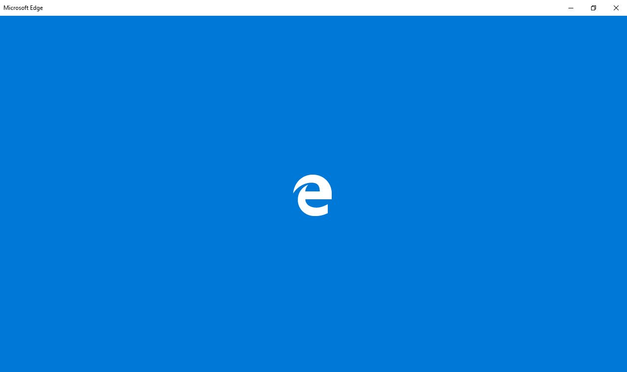 Microsoft Edge Internet Browser