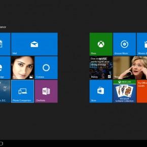 Tablet Mode Windows 10 Screenshot