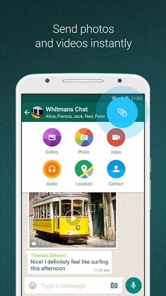 WhatsApp Messenger v2.17.54 .apk File