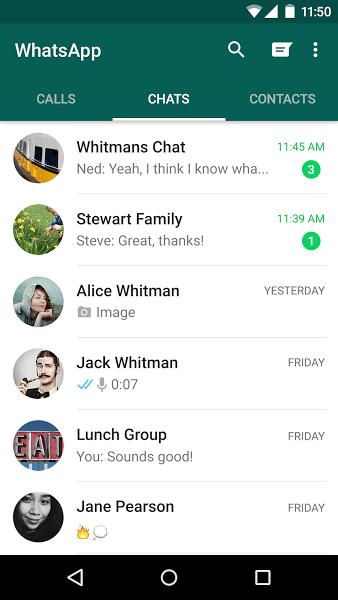 WhatsApp Messenger v2.17.54 .apk File