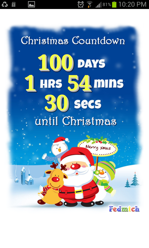 Christmas Countdown v1.0 .apk File