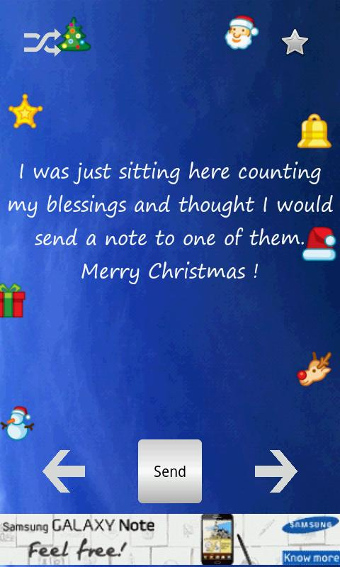 Christmas Greetings v1.3  .apk File