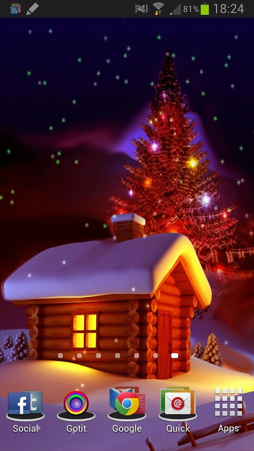 Christmas HD Live Wallpaper v1.2  .apk File