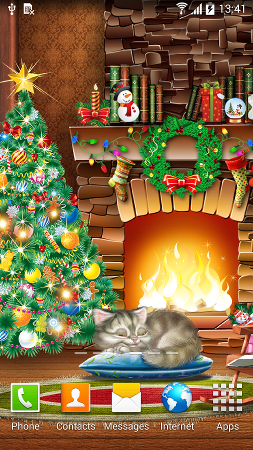 Christmas Live Wallpaper v1.0.2 .apk File