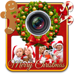 Christmas Photo Collage Maker Feature