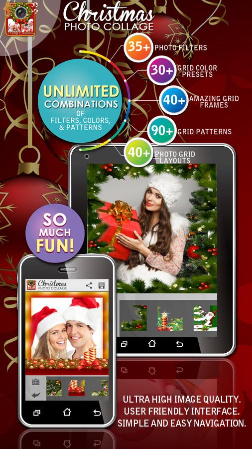 Christmas Photo Collage Maker v5.0 .apk File