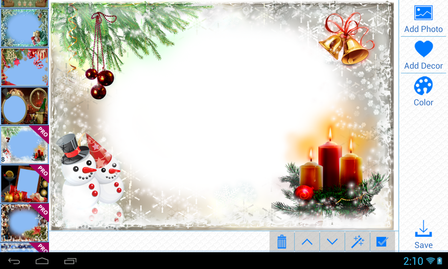 Christmas Photo Frames v2.2.1 .apk File