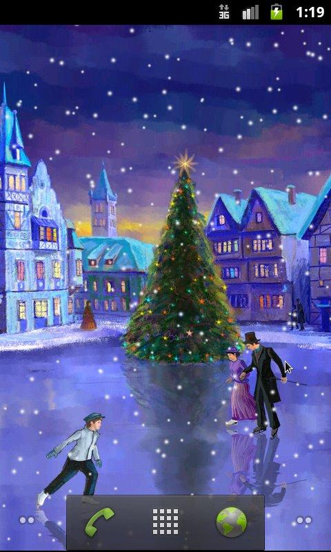 Christmas Rink Live Wallpaper v2.7 .apk File