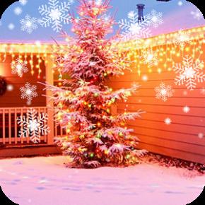 Christmas Snow Live Wallpaper