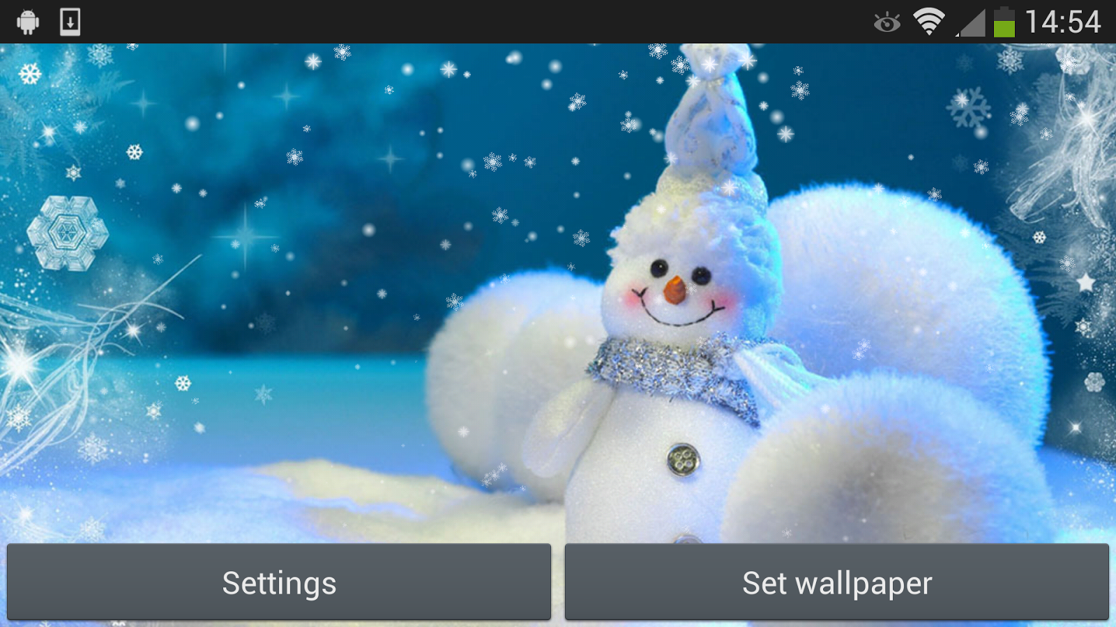 Christmas Snowman v1.4 .apk File