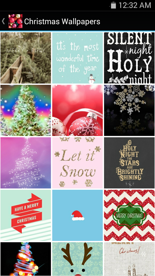 Christmas Wallpapers v1.0 .apk File
