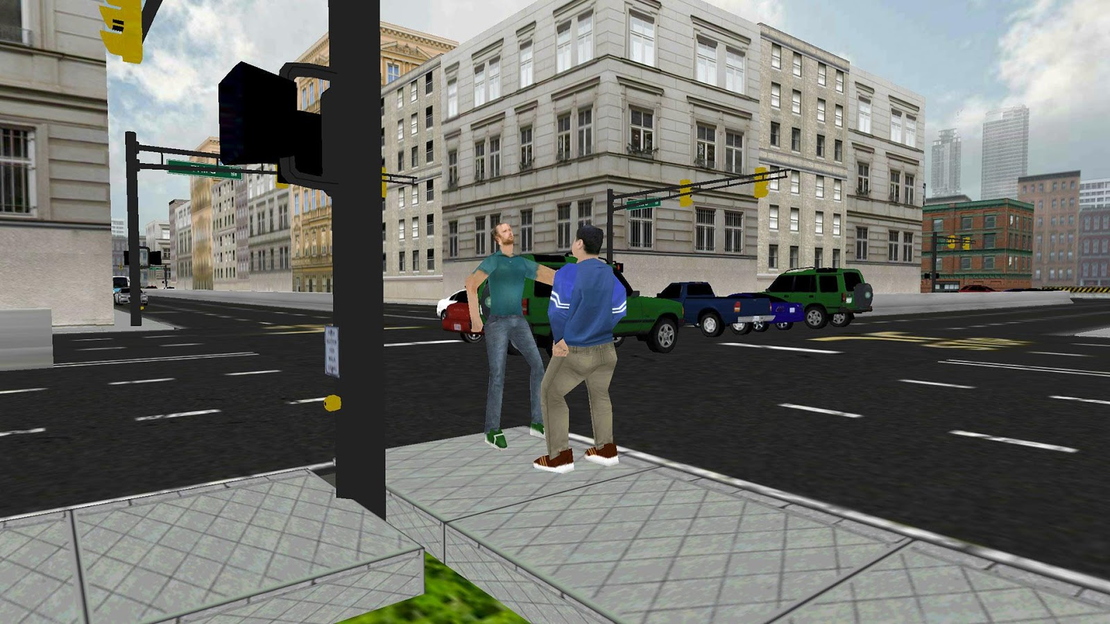 City Driving 3D : Traffic Roam v1.4 .apk File