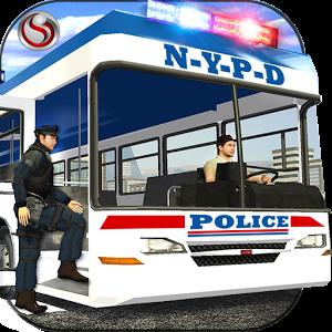 Police Bus Criminal Transport