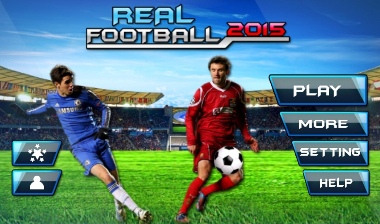 Football 2015: Real Soccer v1.1 .apk File