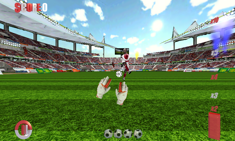 Football Games Goalkeeper 3D v2.6 .apk File