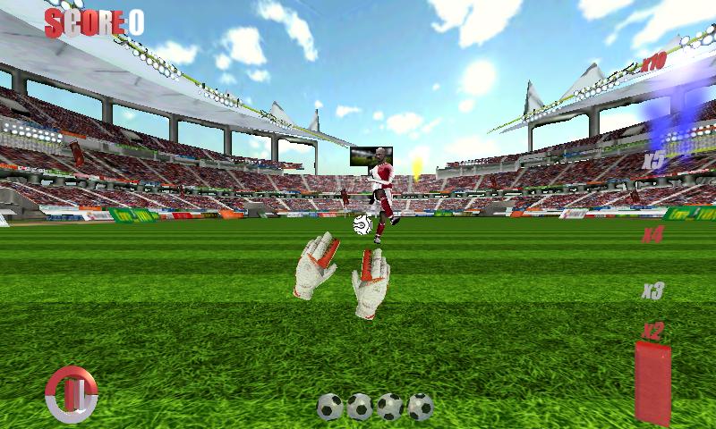 Football Games Goalkeeper 3D v2.6 .apk File